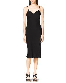 MICHAEL Michael Kors  Bias-Cut Slip Dress