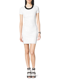 MICHAEL Michael Kors  Sequined Knit Dress