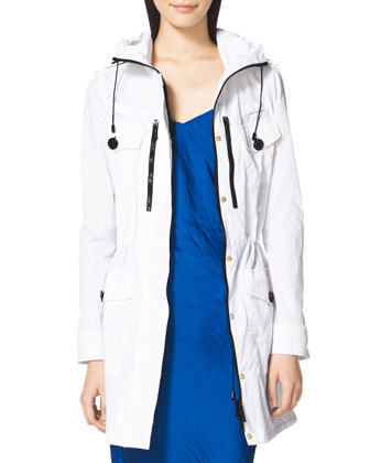 Long Hooded Anorak