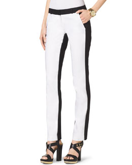 MICHAEL Michael Kors  Miranda Two-Tone Pants