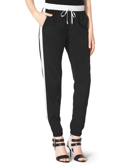 Two-Tone Track Pants