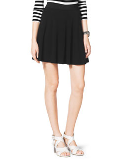 MICHAEL Michael Kors  Flared Pull-On Skirt