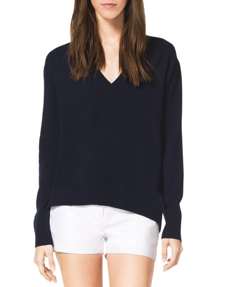 High-Low Cashmere Top