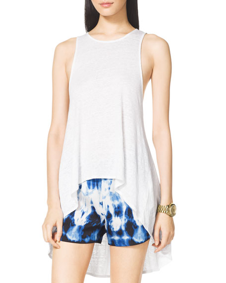 High-Low Slub Tank
