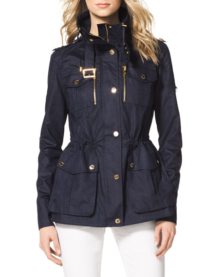 Cinch-Waist Anorak