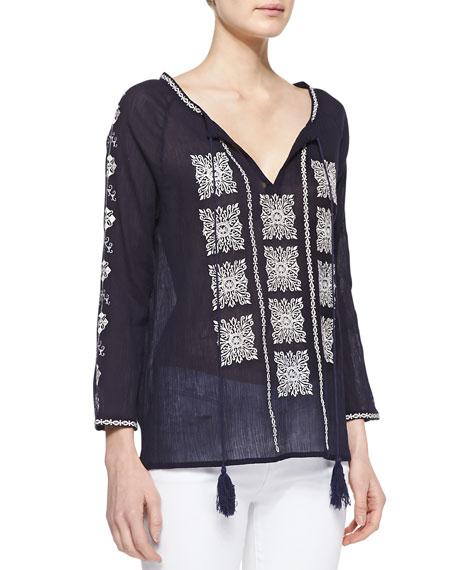 Radha 3/4-Sleeve Tunic