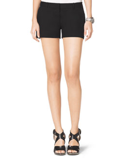MICHAEL Michael Kors  Stretch Clean Mini Shorts
