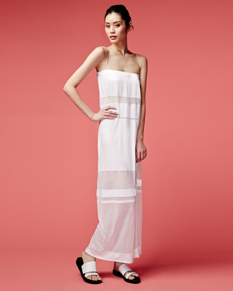 Horizon Long Paneled Dress