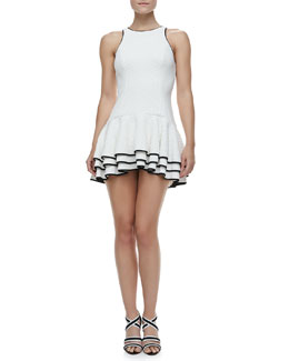 Cameo Your Move Double-Ruffle Dress