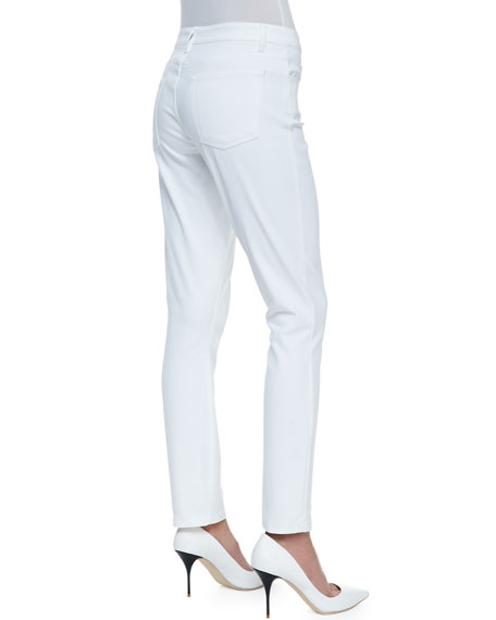 Billy All White Five-Pocket Pants