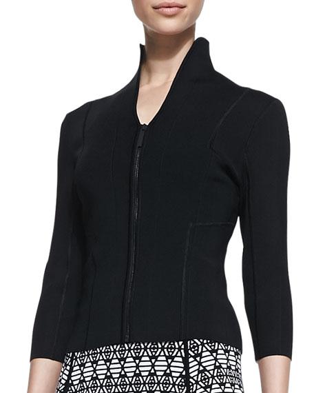 Sophie Drape-Collar Jacket