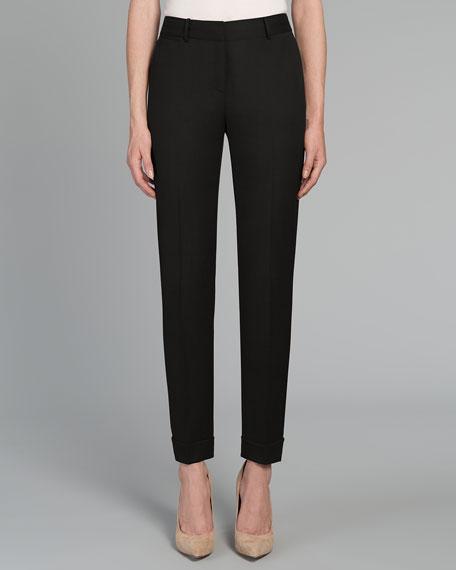 Slim Cuffed Pants