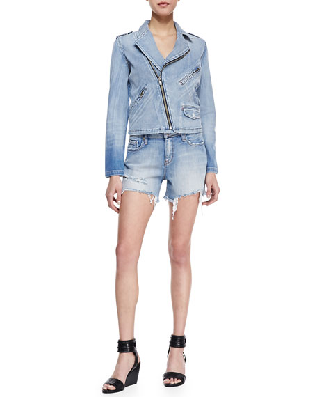 Tomboy Cutoff Denim Shorts, Queens