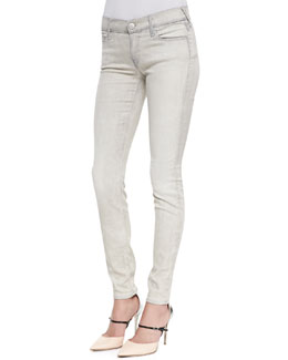 True Religion Abbey Copper Valley High-Rise Super-Skinny Jeans
