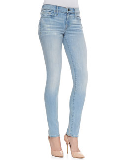 True Religion Halle Mid-Rise Super Skinny Jeans, Breezy Meadow