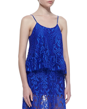Karli Sleeveless Lace Top