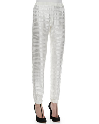 Tera Tiger-Stripe Track Pants