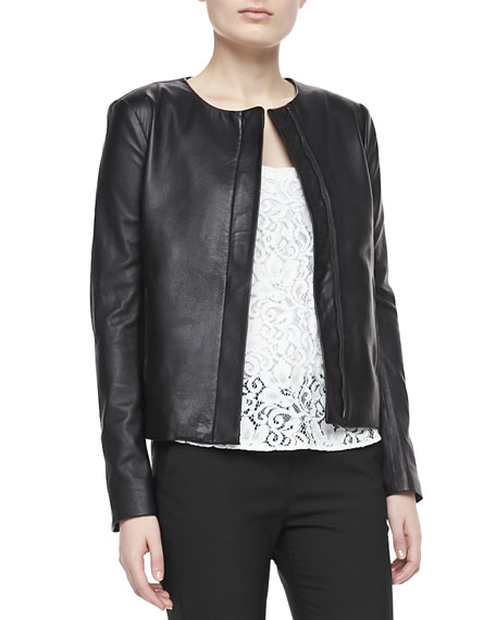 Raoul Crossover Leather Jacket