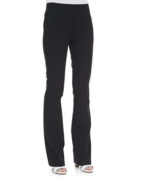Tevita Cotton Flare-Leg Pants