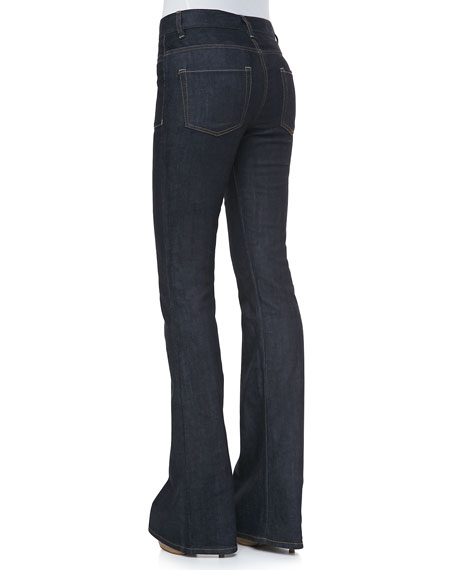 Leonata Denim Wide-Leg Pants