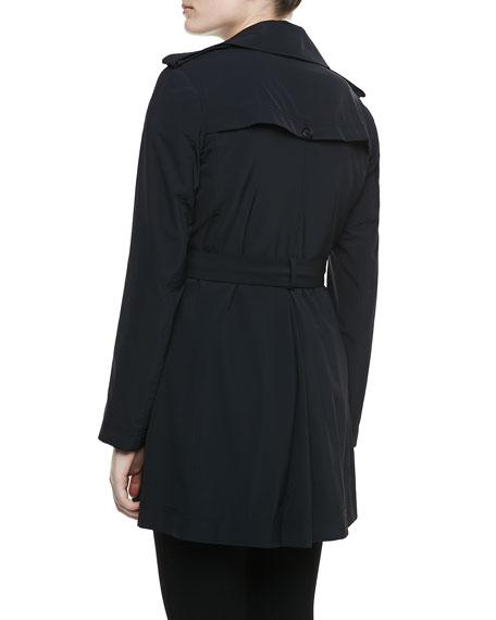 Kota Trench Jacket. Black