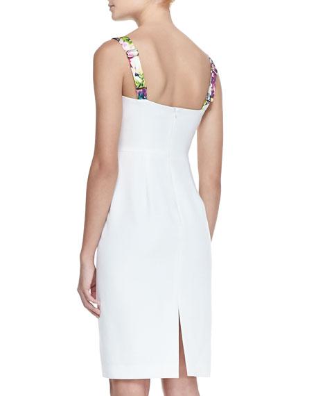 Sadie Floral-Print Sheath Dress