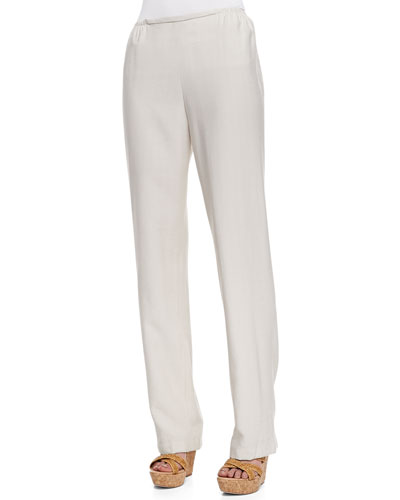 Caroline Rose Cabo Straight-Leg Pants,