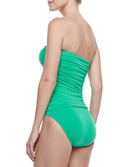 Bow Chic Tie  Maillot One-Piece Swimsuit