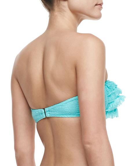 Prima Donna Ruffled Bandeau Swim Top