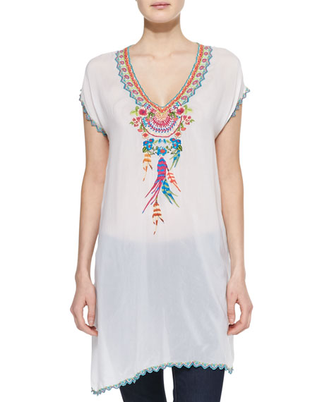 Sweet Dreams Embroidered Georgette Tunic