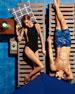 Stella Mesh-Sides One-Piece Swimsuit