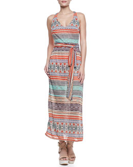 Saha Inga Sleeveless Back-Draped Maxi Dress