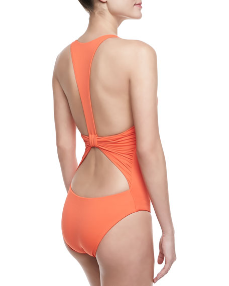 Inga One-Piece Halter Swimsuit