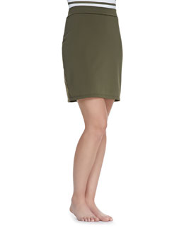 Parasol UPF 50 Active Slim Above-Knee Coverup Skirt