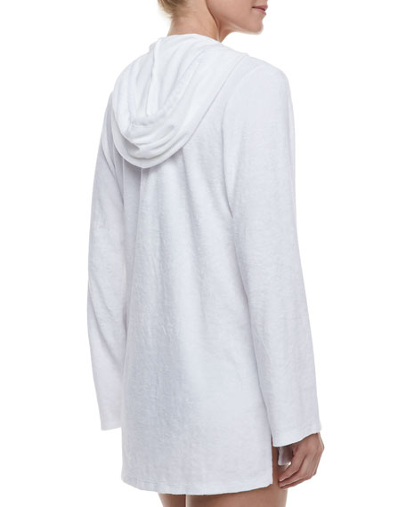 Signature Terry Hooded Tunic