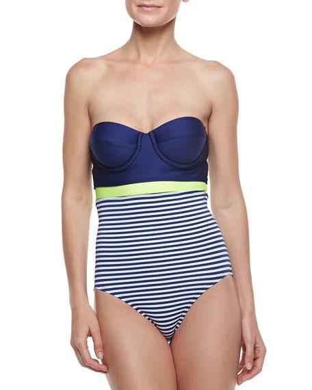 Malibu Stripe One-Piece Swimsuit