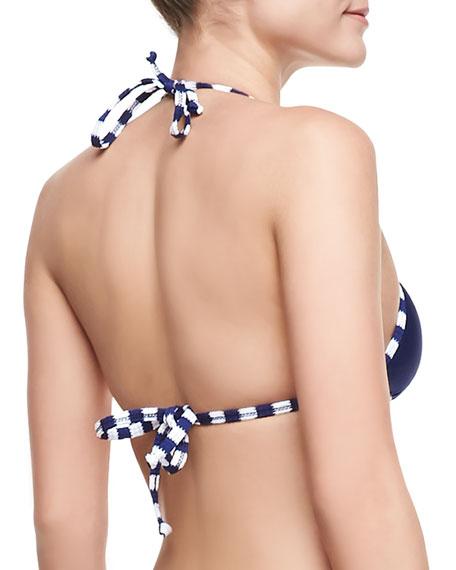Miami Reversible Triangle Bikini Top