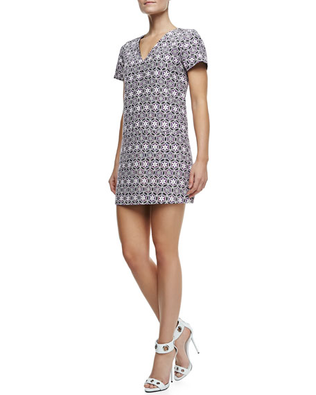 Mara Cotton-Silk Dress