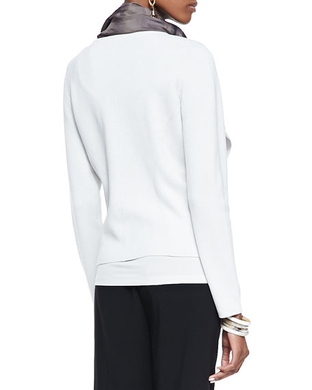 Silk-Cotton Short Jacket