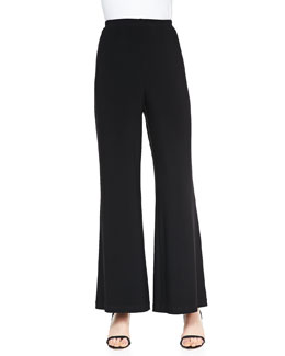 Caroline Rose Wide-Leg Stretch Pants, Women's