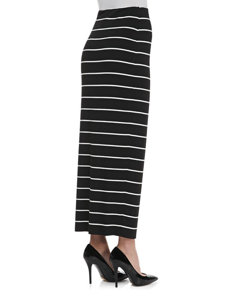 Masakela Fitted Striped Skirt