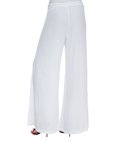 Windy Ghost Wide-Leg Pants