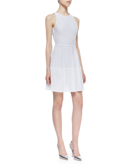 Cassandra Netted A-Line Dress