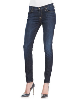 7 For All Mankind Slim Cigarette LA Dk Jeans