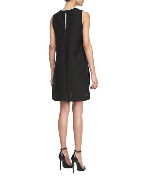 Side-Zip Sleeveless Dress