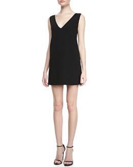 Robert Rodriguez Vertebrae-Detail Shift Dress