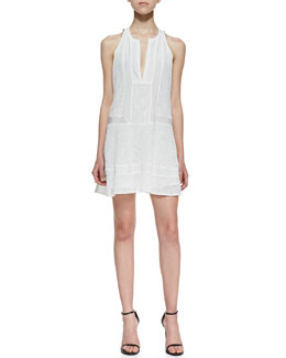 12th Street by Cynthia Vincent Sleeveless Inset Lace Dress
