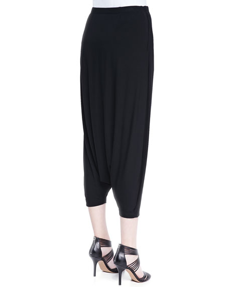 Harem Lightweight Pants, Black