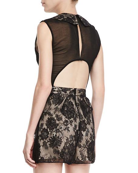Talitha Cutout Lace Jumpsuit