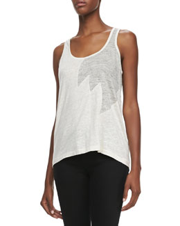 MARC by Marc Jacobs Carmen Flame Jersey Tank Top